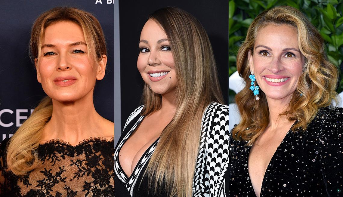 item 2 of Gallery image - Renee Zellweger, Mariah Carey and Julia Roberts