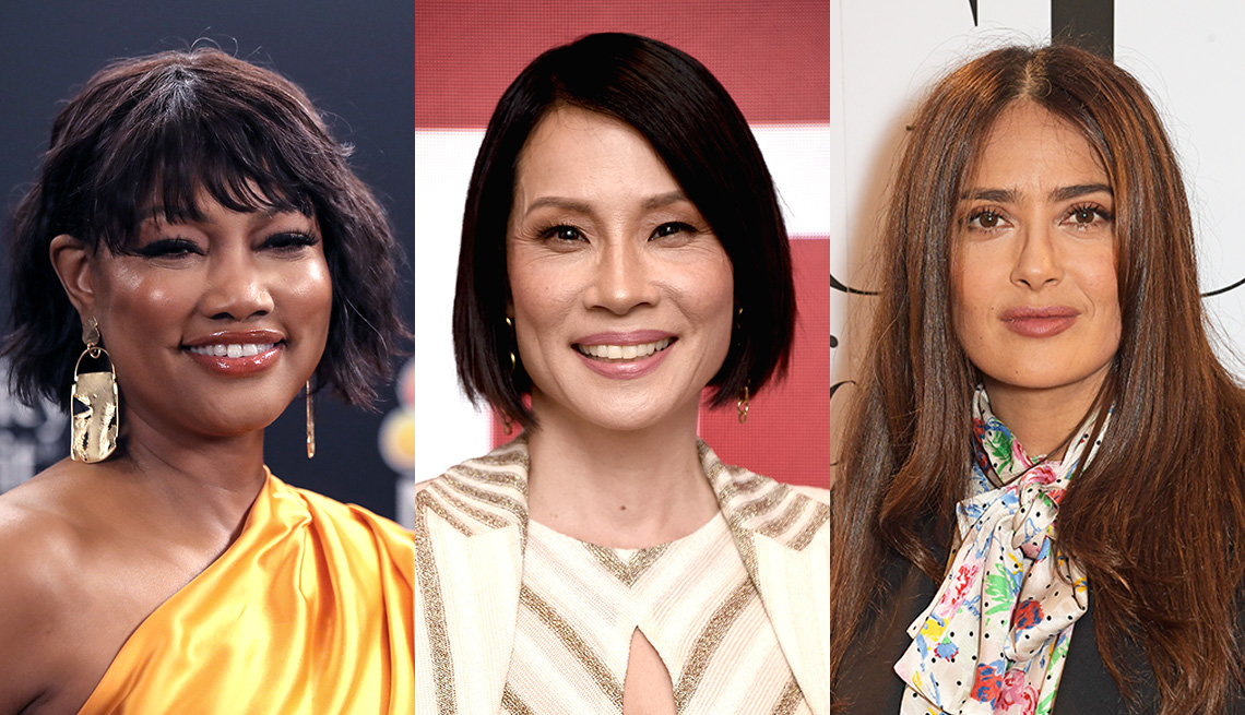 item 10 of Gallery image - Garcelle Beauvais, Lucy Liu and Salma Hayek
