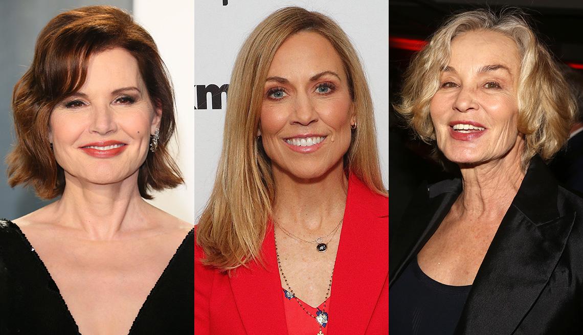 item 4 of Gallery image - (De izquierda a derecha) Geena Davis, Sheryl Crow y Jessica Lange