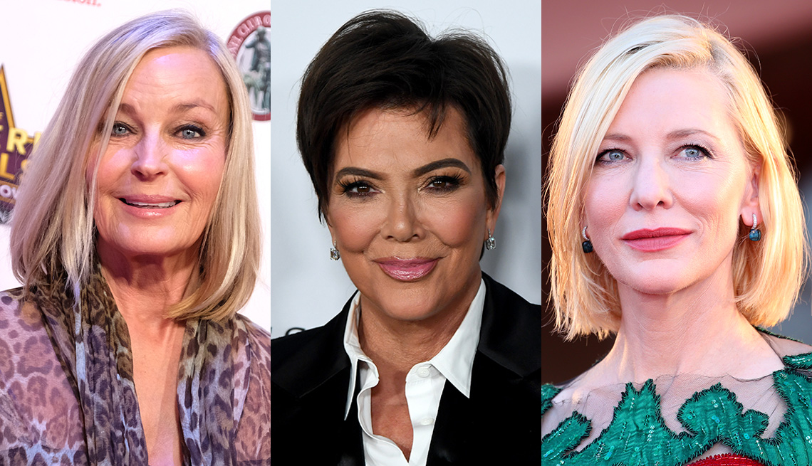 item 3 of Gallery image - (De izquierda a derecha) Bo Derek, Kris Jenner y Cate Blanchett