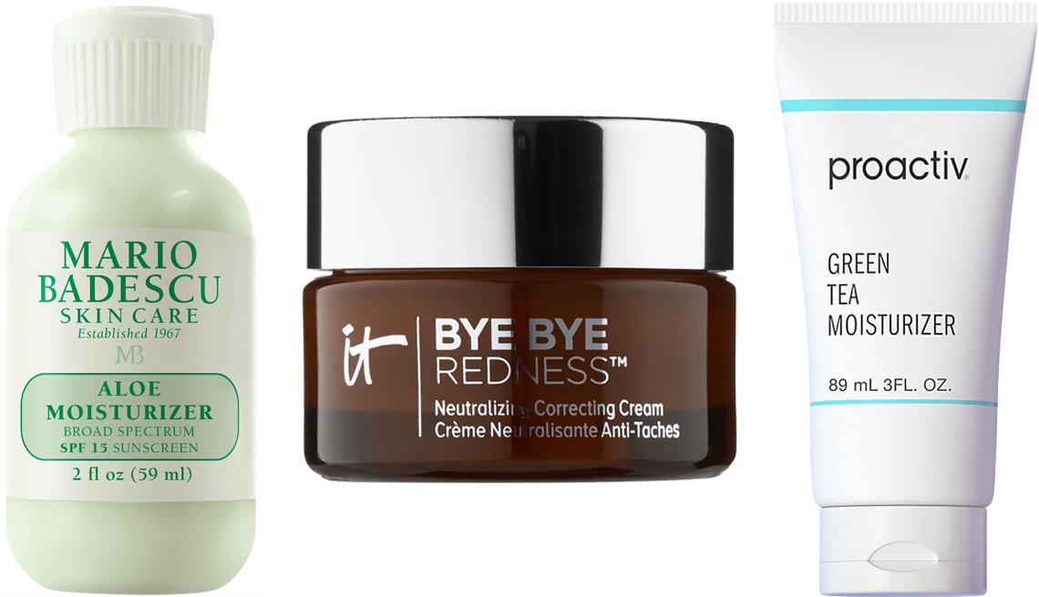 item 8 of Gallery image - Mario Badescu Aloe Moisturizer; It Cosmetics Bye-Bye Redness Neutralizing Color-Correcting Cream; Proactiv Green Tea Moisturizer