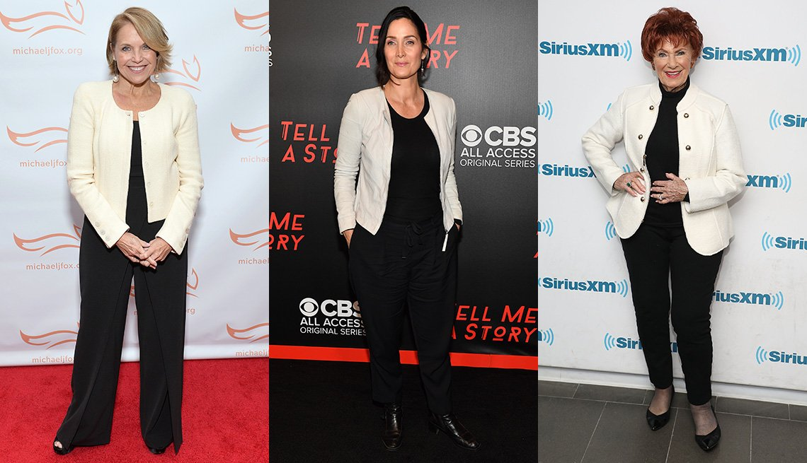 item 4 of Gallery image - Katie Couric, Carrie-Anne Moss and Marion Ross