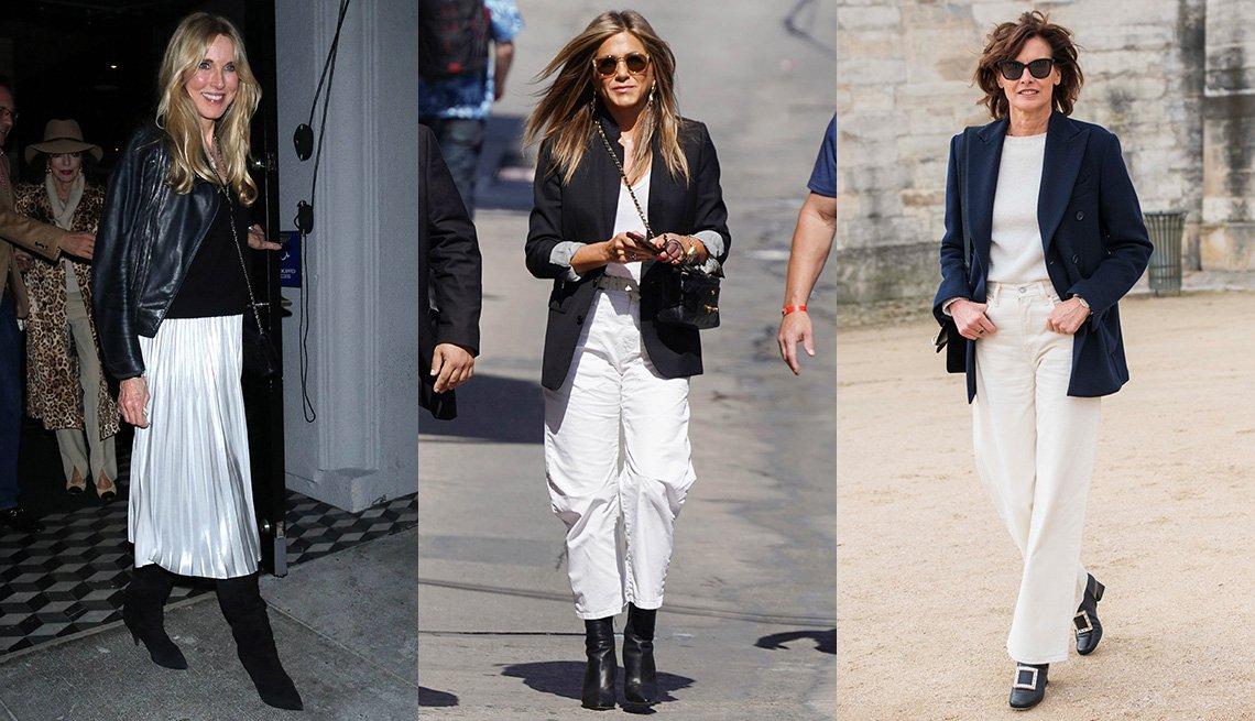 item 5 of Gallery image - Alana Stewart, Jennifer Aniston and Ines de la Fressange