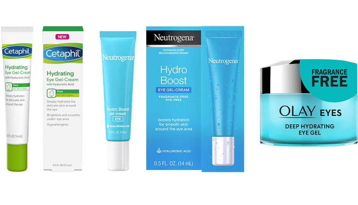 item 2 of Gallery image -  (De izq. a der.) Cetaphil Hydrating Eye Gel-Cream; Neutrogena Hydro-Boost Eye Gel-Cream; Olay Eyes Deep Hydrating Eye Gel