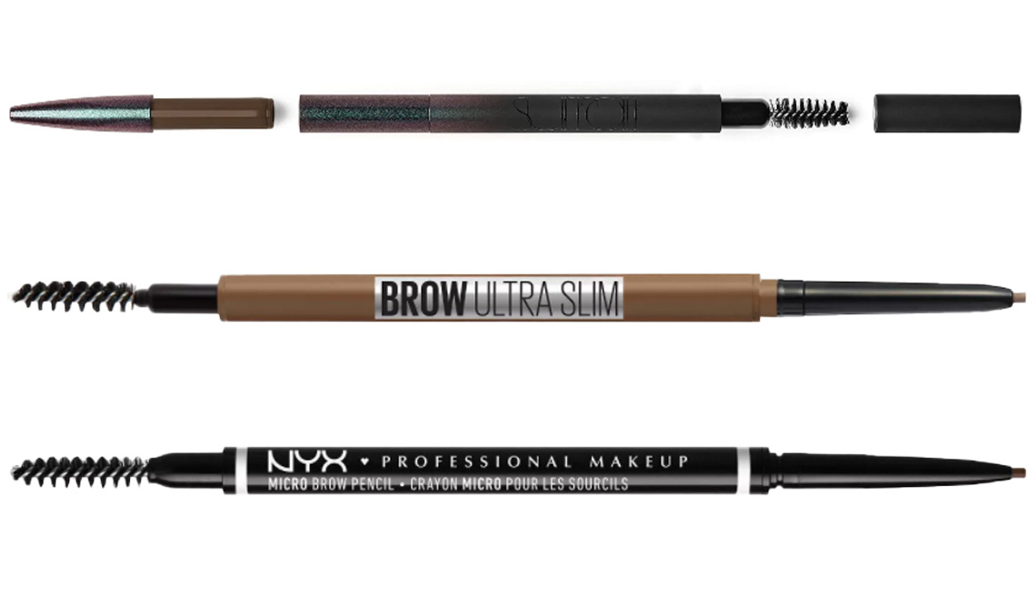item 10 of Gallery image - Surratt Expressioniste Brow Pencil; Maybelline Brow Ultra Slim Defining Eyebrow Pencil; NYX Professional Makeup Microbrow Pencil