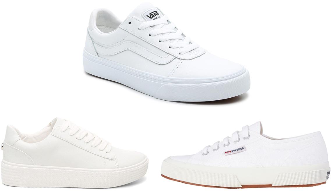 item 9 of Gallery image - Steve Madden Hanly Platform Sneaker; Vans Ward Lo Deluxe Sneaker; Superga 2750 COTU Classic Sneaker in White