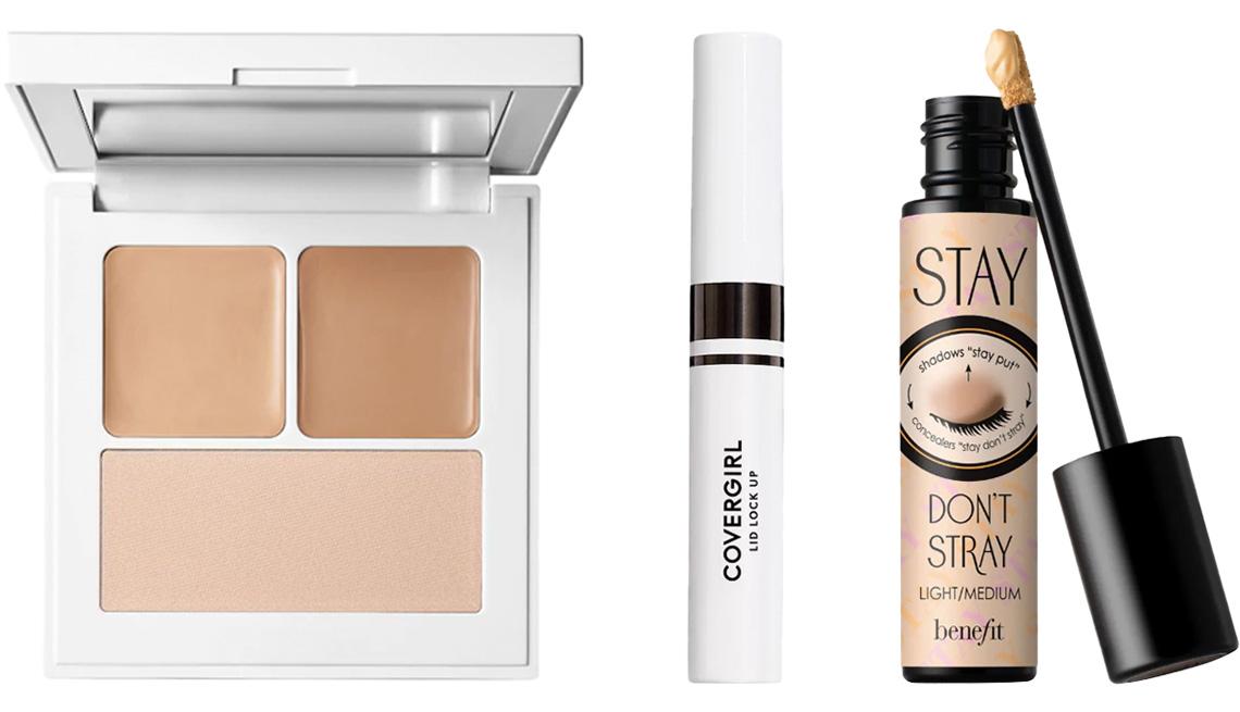 item 2 of Gallery image - Makeup by Mario Master Eye Prep & Set; CoverGirl Lid Lock Up Eyeshadow Primer; Benefit Stay Don't Stray Eyeshadow Primer
