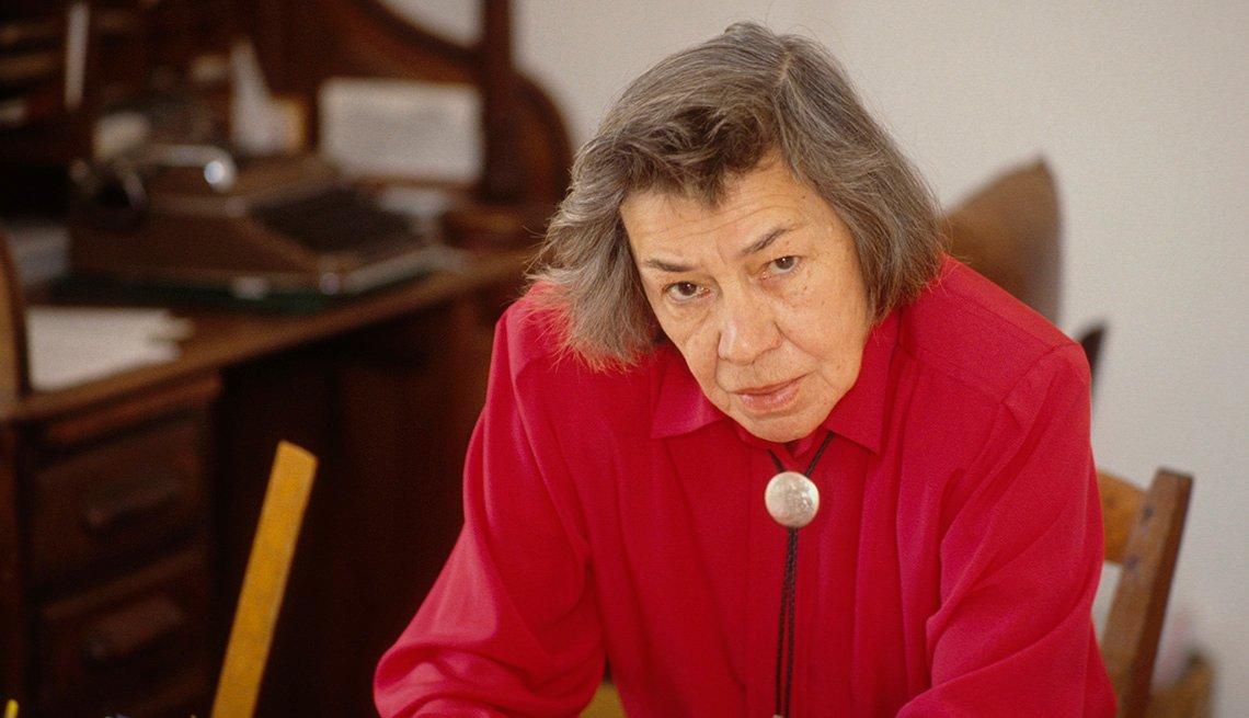La novelista estadounidense Patricia Highsmith.