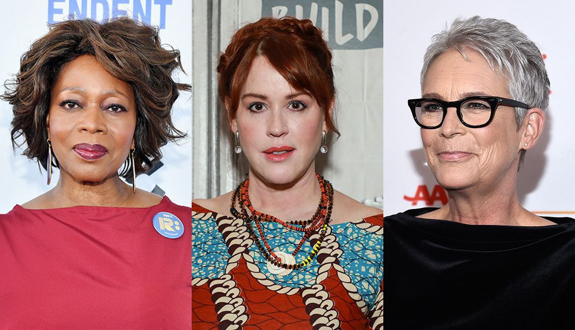 item 4 of Gallery image - Actresses Alfre Woodard, Molly Ringwald and Jamie Lee Curtis
