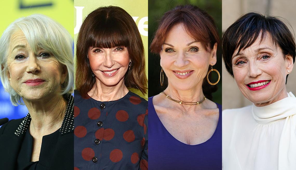 item 4 of Gallery image - Actresses Helen Mirren, Mary Steenburgen, Marilu Henner and Kristin Scott Thomas