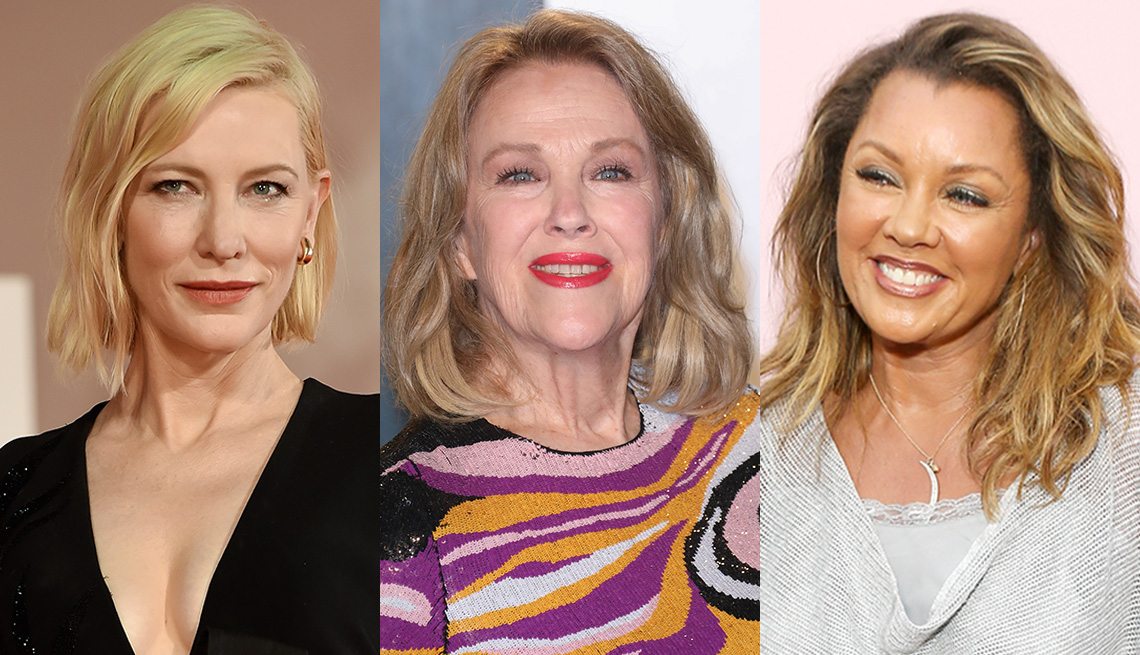 item 10 of Gallery image - Side by side images of Cate Blanchett, Catherine O'Hara and Vanessa Williams