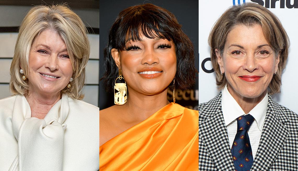 item 1 of Gallery image - (Izquierda a derecha) Martha Stewart, Garcelle Beauvais y Wendie Malick