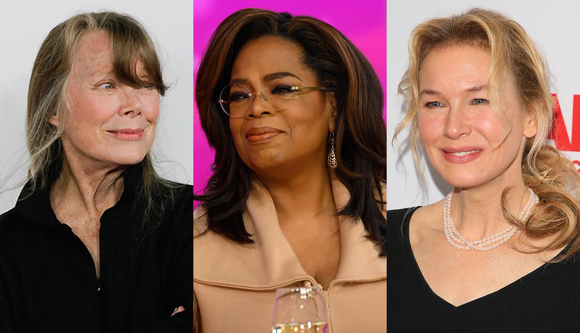 Sissy Spacek, Oprah Winfrey y Renee Zellweger.
