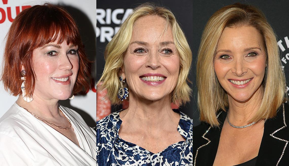 item 3 of Gallery image - (Izquierda a derecha) Molly Ringwald, Sharon Stone y Lisa Kudrow.