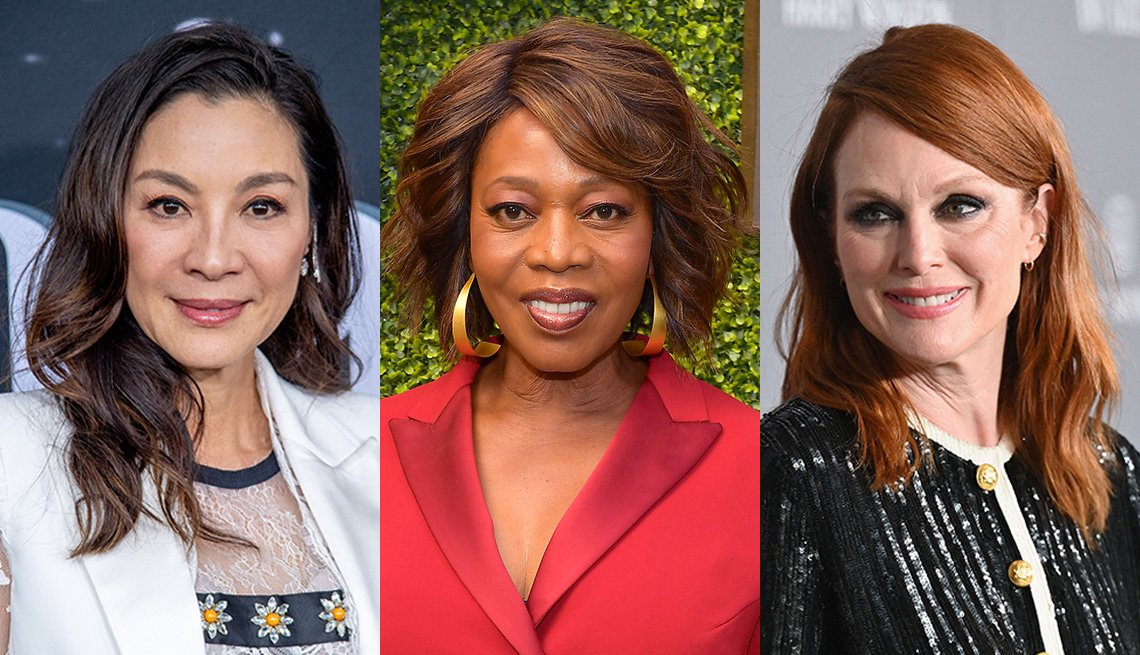 Michelle Yeoh, Alfre Woodard and Julianne Moore