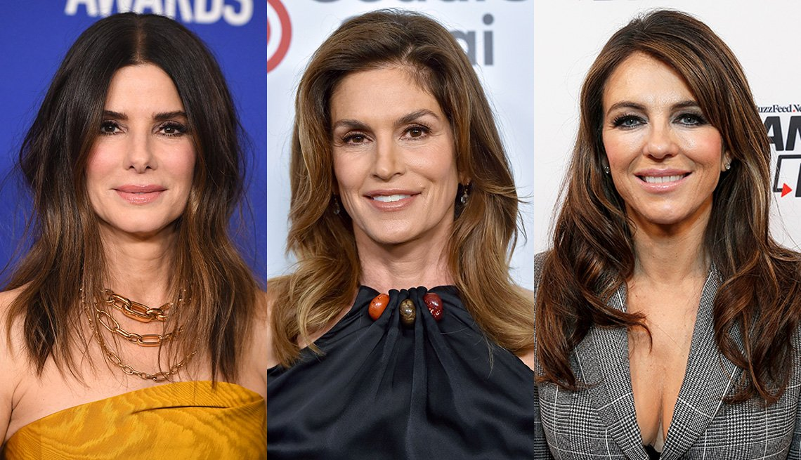 item 7 of Gallery image - Sandra Bullock, Cindy Crawford and Elizabeth Hurley