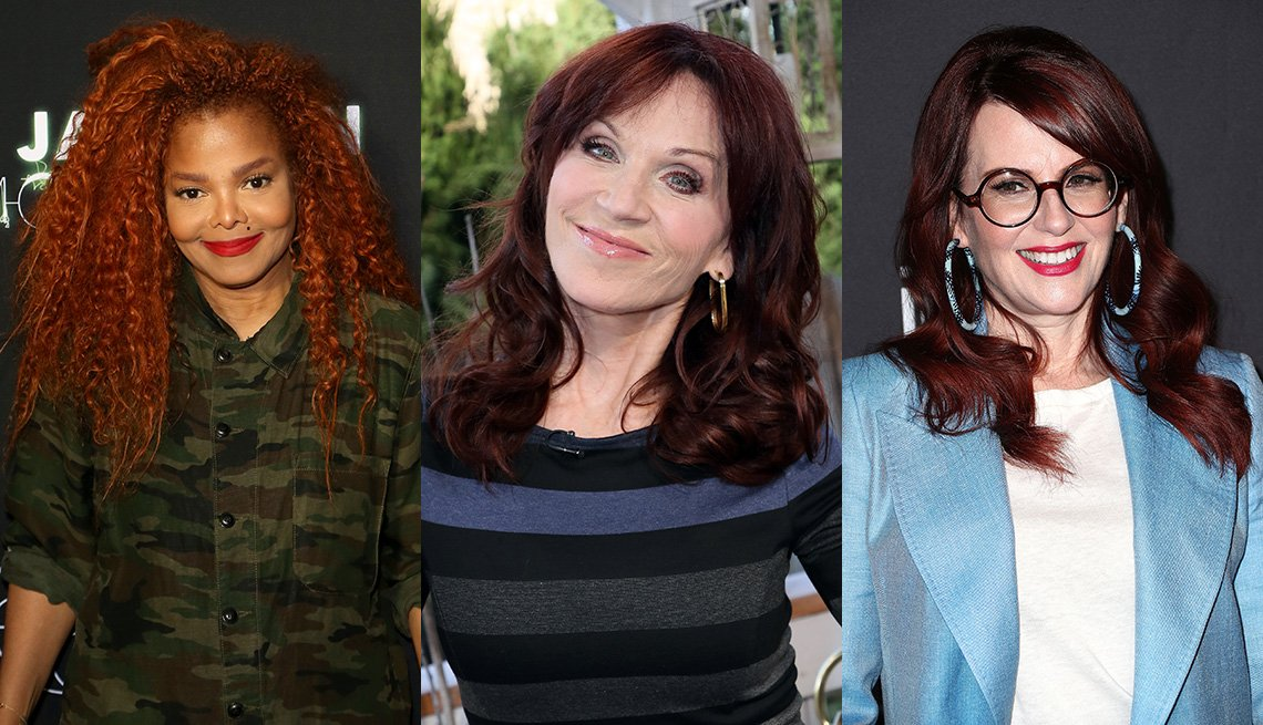 item 11 of Gallery image - Janet Jackson, Marilu Henner and Megan Mullally