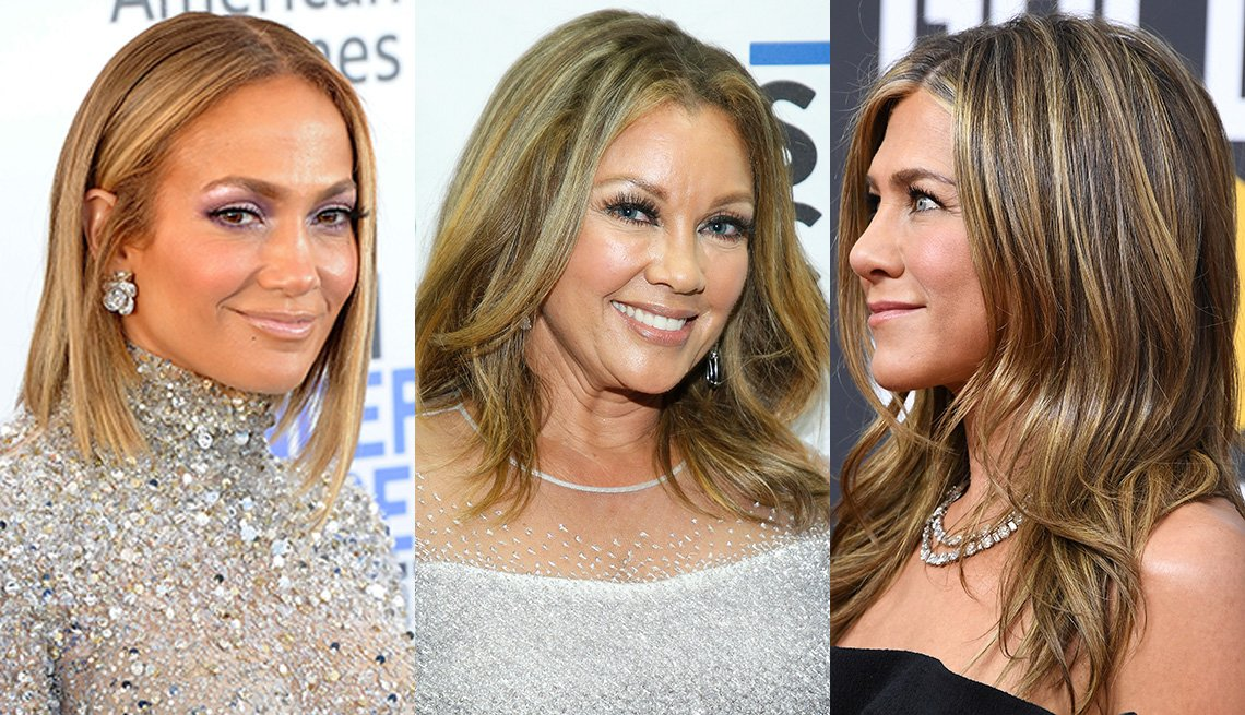item 1 of Gallery image - Jennifer Lopez, Vanessa Williams and Jennifer Aniston