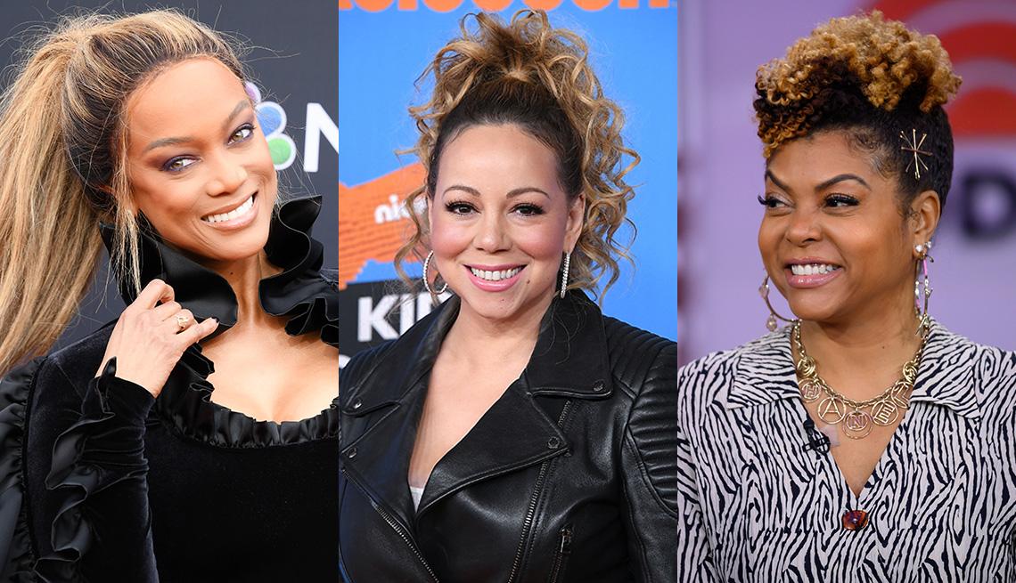 item 4 of Gallery image - Tyra Banks, Mariah Carey and Taraji P. Henson
