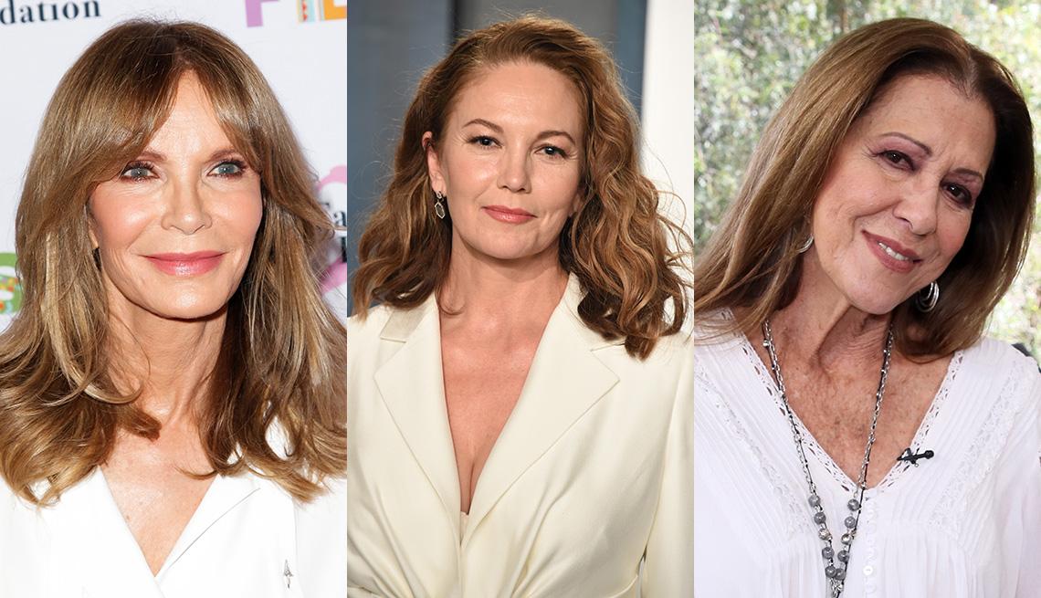 item 5 of Gallery image - (Izquierda a derecha) Jaclyn Smith, Diane Lane y Rita Coolidge.