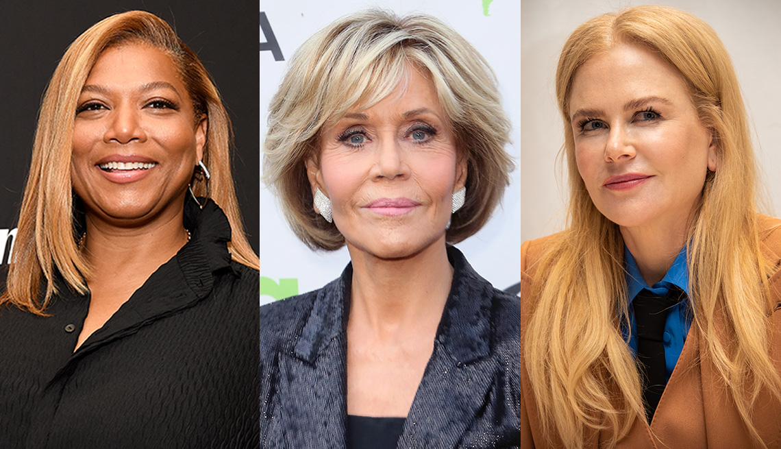 Queen Latifah, Jane Fonda and Nicole Kidman