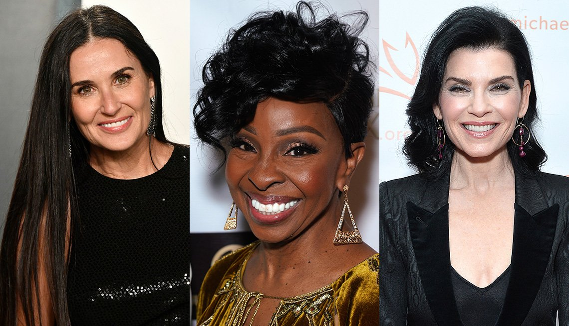 item 8 of Gallery image - Demi Moore, Gladys Knight and Julianna Margulies