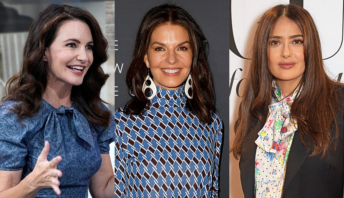 item 6 of Gallery image - Kristin Davis, Sela Ward and Salma Hayek