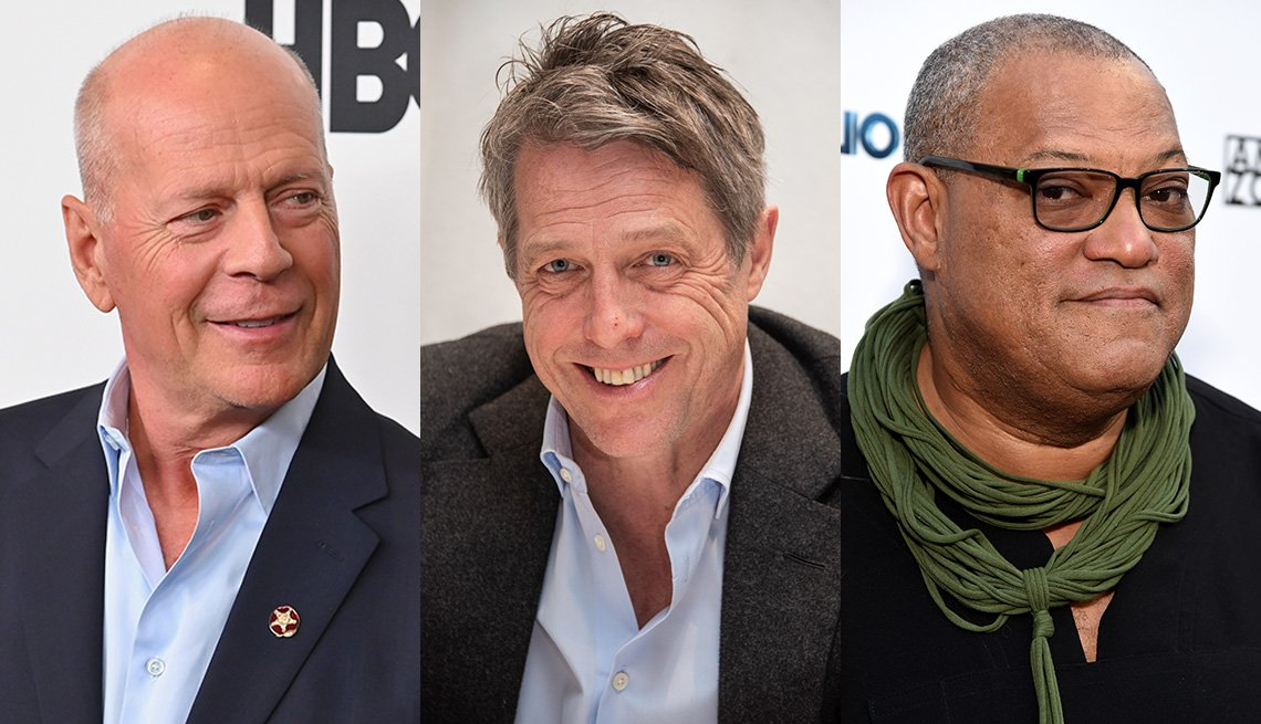 item 4 of Gallery image - Bruce Willis, Hugh Grant and Laurence Fishburne