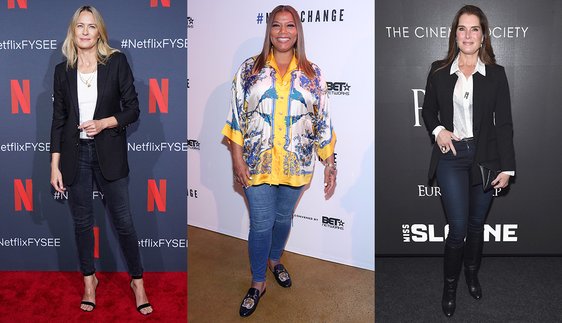 item 4 of Gallery image - Robin Wright, Queen Latifah and Brooke Shields