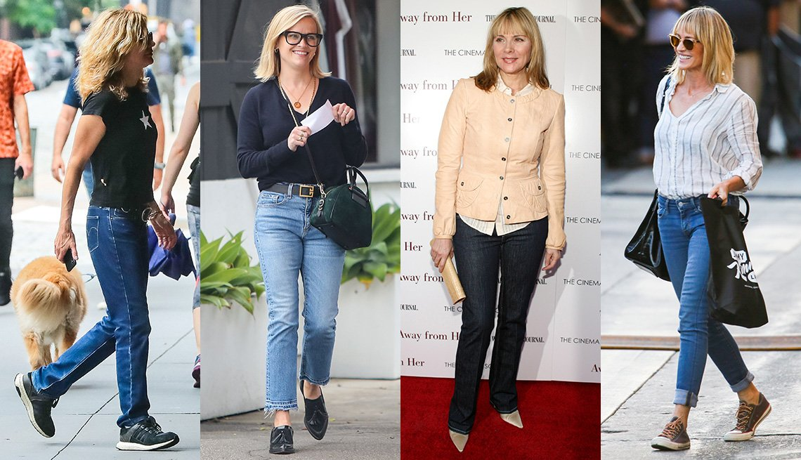 item 5 of Gallery image - Meg Ryan, Reese Witherspoon, Kim Cattrall and Robin Wright