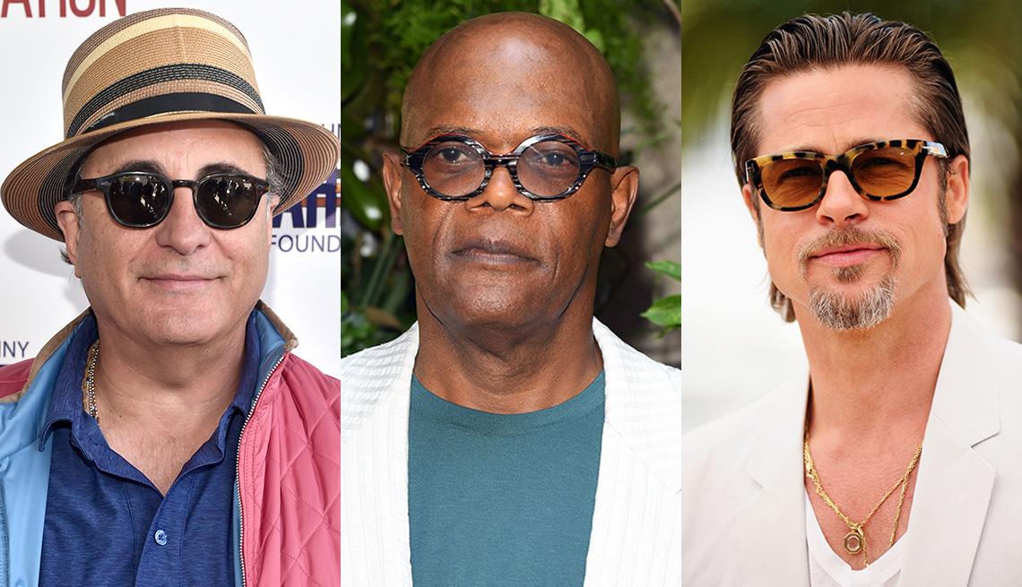item 1 of Gallery image - Andy Garcia, Samuel L. Jackson and Brad Pitt