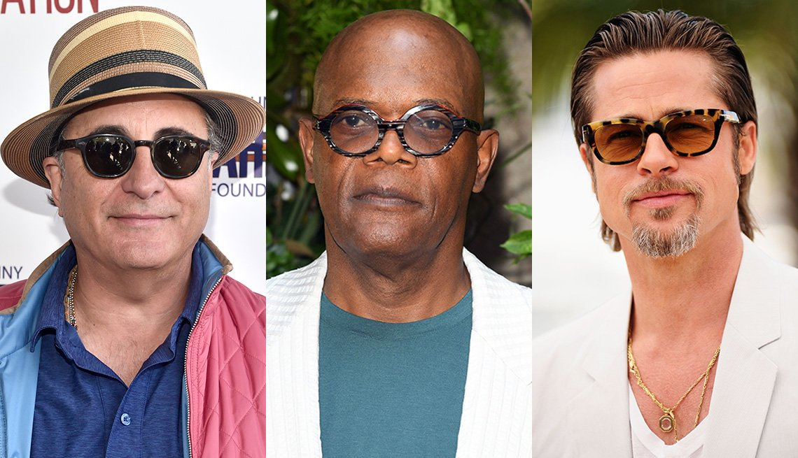 item 1 of Gallery image - Andy Garcia, Samuel L. Jackson and Brad Pitt