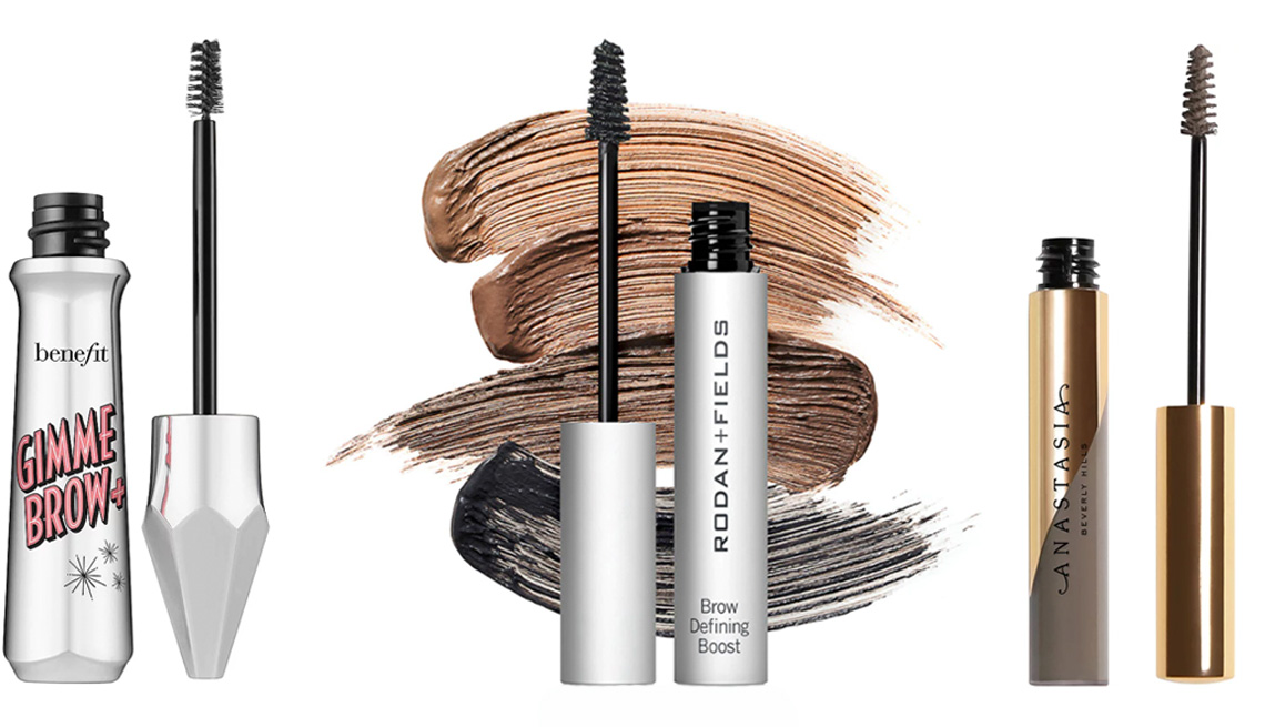 item 7 of Gallery image - Benefit Gimme Brow + Tinted Volumizing Eyebrow Gel; Rodan+Fields Brow Defining Boost; Anastasia Beverly Hills DipBrow Gel