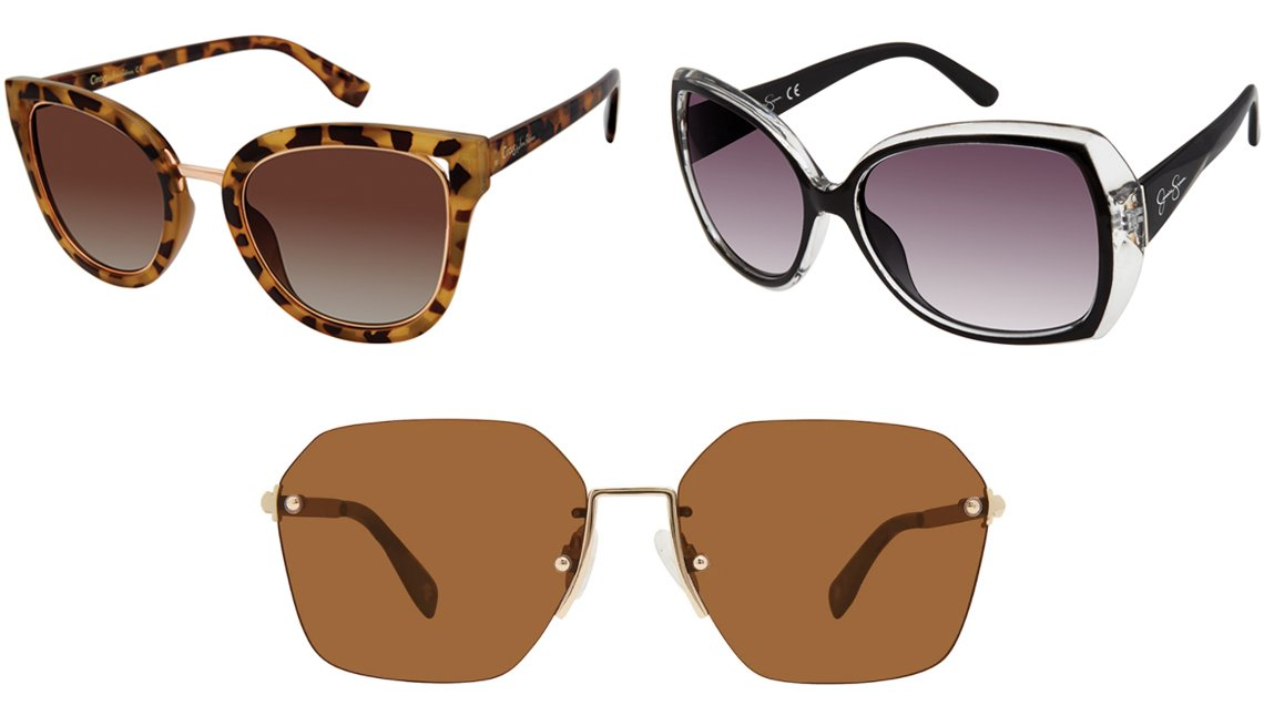 item 5 of Gallery image - Circus by Sam Edelman Women's CC447 Cat-Eye Sunglasses with 100% UV Protection in Brown; Jessica Simpson Women's Oversized Butterfly Sunglasses with 100% UV Protection in Black; Privé Revaux The Chosen 58mm Polarized Sunglasses