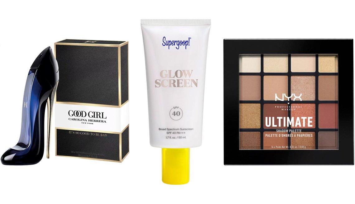 item 4 of Gallery image - Carolina Herrera Good Girl Eau de Perfume; Supergoop! Glowscreen Broad Spectrum Sunscreen SPF 40; NYX Professional Makeup Ultimate Eyeshadow