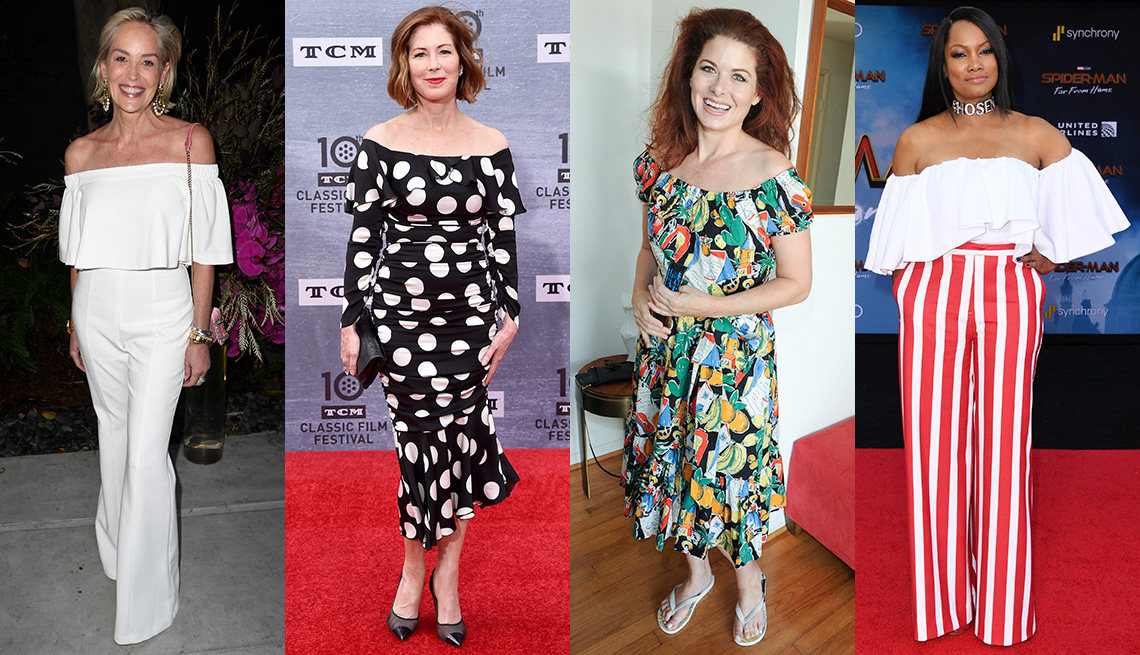 item 9 of Gallery image - Sharon Stone, Dana Delany, Debra Messing and Garcelle Beauvais