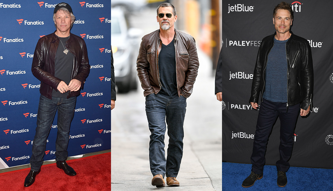 item 1 of Gallery image - (De izquierda a derecha) Jon Bon Jovi, Josh Brolin y Rob Lowe..