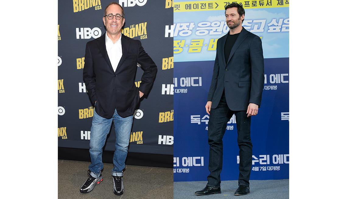 item 2 of Gallery image - Jerry Seinfeld (izquierda) y Hugh Jackman.