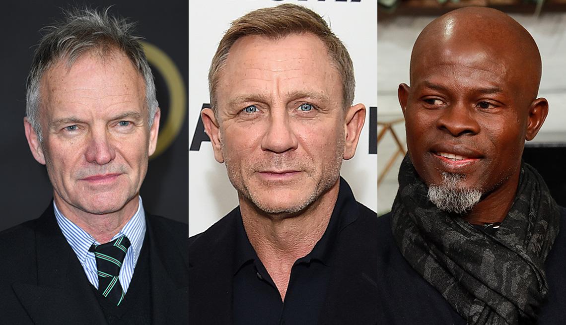 item 6 of Gallery image - (Izquierda a derecha) Sting, Daniel Craig y Djimon Honsou.