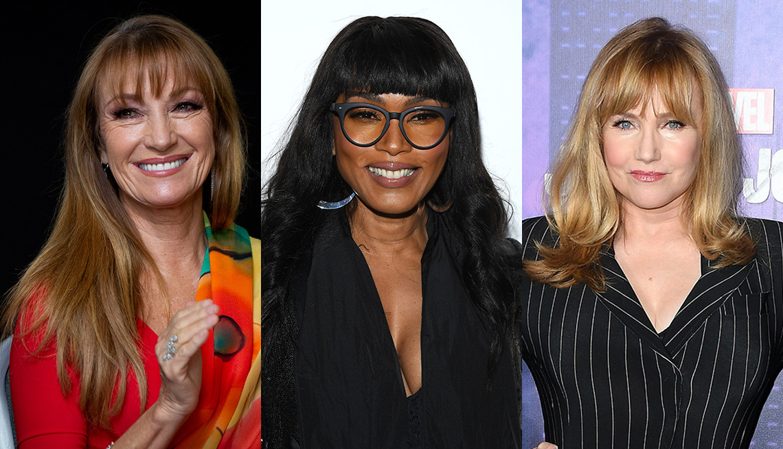 item 2 of Gallery image - Side by side images of Jane Seymour, Angela Bassett and Rebecca De Mornay