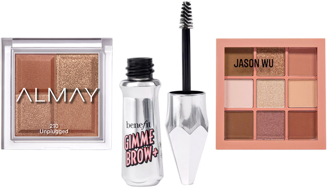 item 7 of Gallery image - Almay Shadow Squad in Unplugged; Benefit Cosmetics Gimme Brow+ Tinted Volumizing Eyebrow Gel for Ulta Beauty; Jason Wu Beauty Flora 9 Eyeshadow Palette in Desert Rose