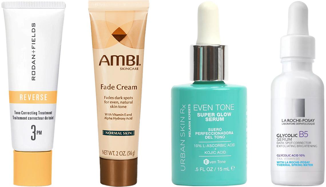 item 6 of Gallery image - Rodan + Fields Reverse Tone Correcting Treatment; Ambi Skincare Fade Cream; Urban Skin Rx Even Tone Super Glow Serum; La Roche-Posay Glycol B5 Dark Spot Corrector