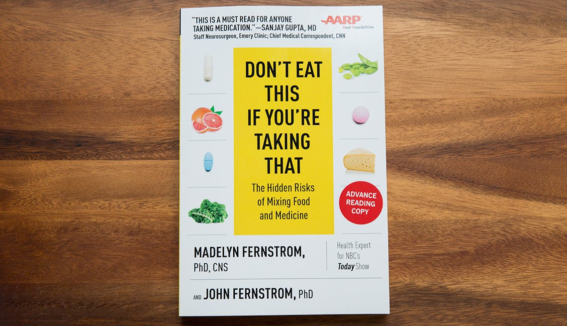 """Book cover of the title """"Don't Eat This If You're Taking That"""""""