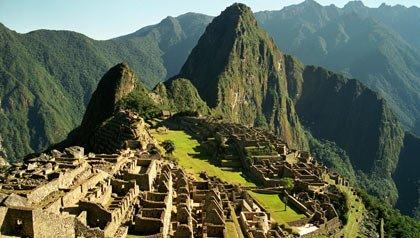 Las ruinas de Machu Picchu, Cuzco, Perú, Latinoamérica