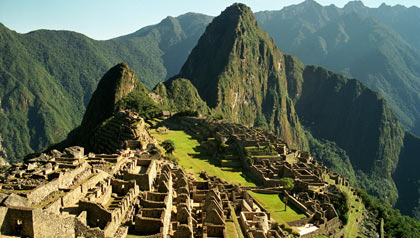 The ruins of Machu Picchu, Peru, Latin America