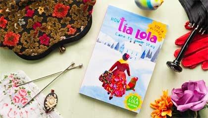 Libro de la serie Tia Lola por Julia Alvarez.