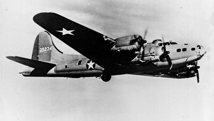 Girl In The Green Beret Book review-World War II Boeing B17, American Flying Fortress