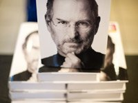 Walter Isaacson's bestselling biography of computer mogul Steve Jobs