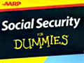 AARP Social Security for Dummies Book Jacket