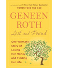 Lost and Found by Geneen Roth. Yellow book cover with red text.